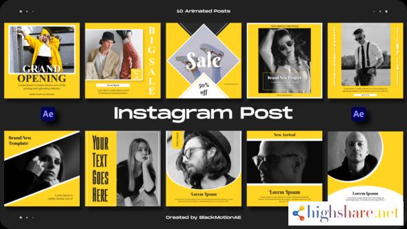 instagram posts v3 32915342 videohive 60f901ed21a4d - Instagram Posts v3 32915342 Videohive