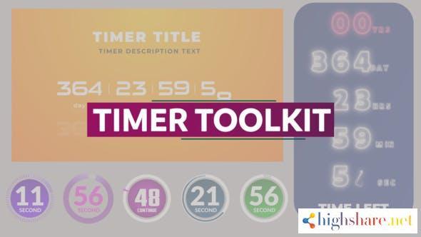 timer toolkit 30632129 videohive 60e1473b7e007 - Timer Toolkit 30632129 Videohive