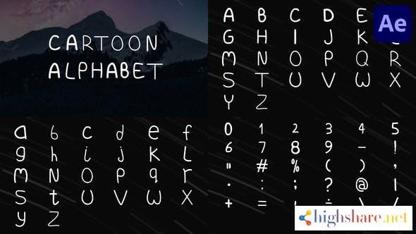 cartoon alphabet after effects 33475668 videohive 6135a738b583d - Cartoon Alphabet | After Effects 33475668 Videohive
