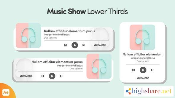 music show lower thirds 33743552 videohive 61481c1687e4e - Music Show Lower Thirds 33743552 Videohive