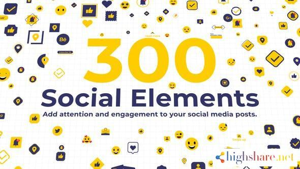 300 social elements after effects 34131296 videohive 6174ef3e6e8cc - 300 Social Elements   After Effects 34131296 Videohive