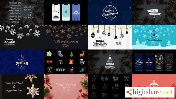 christmas pack titles backgrounds elements 23020608 videohive 6174eeee8ffb2 - Christmas Pack Titles, Backgrounds Elements 23020608 Videohive